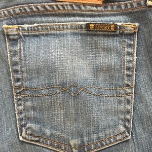 Lucky sweet and low boot cut jeans